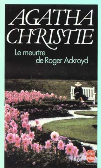 Couverture du livre « Le meurtre de Roger Ackroyd » de Agatha Christie aux éditions Lgf