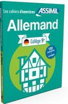 Couverture du livre « Cahier exercices allemand 5e » de Schodel Amirkhosrovi aux éditions Assimil