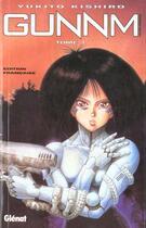 Couverture du livre « Gunnm T.1 » de Yukito Kishiro aux éditions Glenat