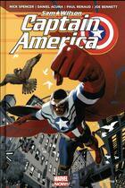 Couverture du livre « Captain America ; Sam Wilson » de Daniel Acuna et Paul Renaud et Joe Bennett et Nick Spencer aux éditions Panini