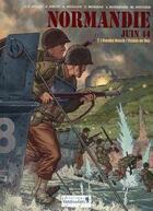 Couverture du livre « Normandie juin 44 T.1 ; Omaha Beach / la pointe du Hoc » de Jerome Felix et Jean-Blaise Djian et Alain Paillou aux éditions Vagabondages