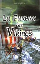 Couverture du livre « La fureur des Vikings » de Michel Planchon aux éditions Charles Corlet