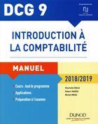 Couverture du livre « DCG 9 ; introduction à la comptabilité (10e édition) » de Charlotte Disle et Robert Maeso et Michel Meau aux éditions Dunod