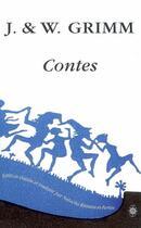 Couverture du livre « Les contes de Grimm t.1 et t.2 ; coffret » de Jacob Grimm et Wilhelm Grimm aux éditions Corti