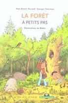 Couverture du livre « Foret a petits pas (nouvelle edition) (la) » de Jean-Benoit Durand aux éditions Actes Sud