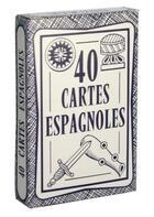 Couverture du livre « Cartes Espagnoles - 40 Cartes » de  aux éditions Vigno-jeux