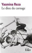 Couverture du livre « Le dieu du carnage » de Yasmina Reza aux éditions Gallimard