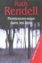 Couverture du livre « Promenons-nous dans les bois » de Ruth Rendell aux éditions Calmann-levy