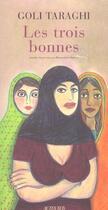 Couverture du livre « Les trois bonnes » de Goli Taraghi aux éditions Actes Sud