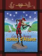 Couverture du livre « Les plus beaux contes d'Alsace » de Sylvie De Mathuisieulx aux éditions Le Verger