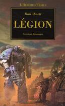 Couverture du livre « Légion » de Dan Abnett aux éditions Bibliotheque Interdite