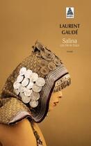 Couverture du livre « Salina ; les trois exils » de Laurent Gaudé aux éditions Actes Sud
