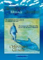 Couverture du livre « À la recherche du message des dauphins » de Claude Traks aux éditions Communicare