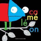 Couverture du livre « Caméléon » de Jean Gourounas aux éditions Atelier Du Poisson Soluble
