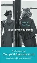 Couverture du livre « Ainsi Berlin » de Laurent Petitmangin aux éditions La Manufacture De Livres