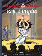 Couverture du livre « Marion Duval T.2 ; rapt à l'opéra » de Yvan Pommaux aux éditions Bd Kids