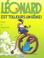 Couverture du livre « Léonard t.2 ; Léonard est toujours un génie » de Bob De Groot et Turk aux éditions Lombard