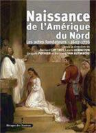 Couverture du livre « Naissance De L Amerique Du Nord » de Collectif aux éditions Les Indes Savantes