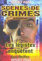Couverture du livre « Les Legistes Enquetent N.2 » de Marx Magdeleine aux éditions Scenes De Crime