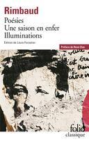 Couverture du livre « Poésies » de Arthur Rimbaud aux éditions Gallimard