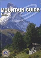 Couverture du livre « Mountain guide info » de Collectif aux éditions Michel Zalio