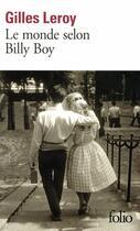 Couverture du livre « Le monde selon Billy Boy » de Gilles Leroy aux éditions Gallimard