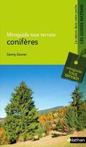 Couverture du livre « Conifères » de Georges Zauner aux éditions Nathan