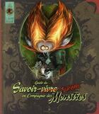 Couverture du livre « Guide du savoir-survivre en compagnie des monstres » de Carine M. et Elian Black'Mor et Patrick Jezequel aux éditions Kensington Pudding
