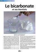 Couverture du livre « Le bicarbonate de soude et ses bienfaits » de Collectif aux éditions Aedis
