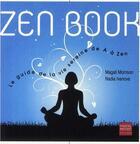 Couverture du livre « Zen book » de Ivanova Nadia et Magali Morisson aux éditions Pascal Petiot