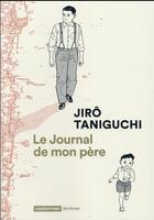 Couverture du livre « Le journal de mon père » de Jiro Taniguchi aux éditions Casterman