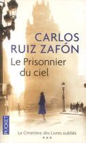 Couverture du livre « Le prisonnier du ciel » de Carlos Ruiz Zafon aux éditions Pocket