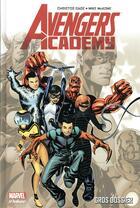 Couverture du livre « Marvel academy t.1 ; gros dossier » de Christos N. Gage et Mike Mckone aux éditions Panini