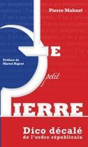 Couverture du livre « Le petit Pierre » de Pierre Mahaut aux éditions Solilang
