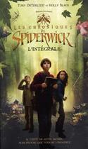 Couverture du livre « Les chroniques de Spiderwick ; intégrale t.1 à t.5 » de Holly Black et Tony Diterlizzi aux éditions Pocket Jeunesse