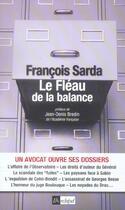 Couverture du livre « Le Fleau De La Balance » de Francois Sarda aux éditions Archipel
