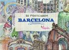 Couverture du livre « Barcelona original - 20 postcards » de Lapin aux éditions Promopress