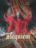 Couverture du livre « Requiem, chevalier vampire T.3 ; Dracula » de Pat Mills et Olivier Ledroit aux éditions Glenat