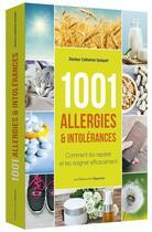 Couverture du livre « 1001 allergies & intolérances » de Catherine Quequet aux éditions L'opportun