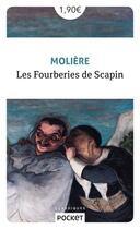 Couverture du livre « Les fourberies de Scapin » de Moliere et Jean-Baptiste Poquelin aux éditions Pocket