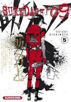 Couverture du livre « Sukedachi 09 T.5 » de Seishi Kishimoto aux éditions Kurokawa
