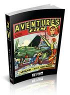 Couverture du livre « Aventures film ; integrale t.2 ; numéros 11 à 20 » de Roger Mellies aux éditions Retrobd