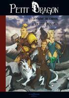 Couverture du livre « Petit Dragon et le crâne de cristal » de Philippe Halvick aux éditions A Contresens