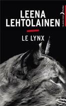 Couverture du livre « Le lynx » de Leena Lehtolainen aux éditions Black Moon