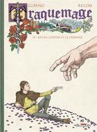 Couverture du livre « Traquemage T.3 ; entre l'espoir et le fromage » de Wilfrid Lupano et Relom et Degreff aux éditions Delcourt