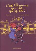 Couverture du livre « C'est l'homme qui dit qu'y est » de Bezian aux éditions Charrette