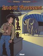 Couverture du livre « Jimmy Tousseul t.1 ; le serpent d'ébène » de Benoit Despas et Daniel Desorgher et Stephen Desberg aux éditions Glenat