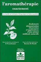 Couverture du livre « Aromatherapie exactement » de Pierre Franchomme aux éditions Roger Jollois
