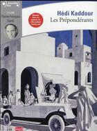Couverture du livre « Les Preponderants Cd » de Hedi Kaddour aux éditions Gallimard