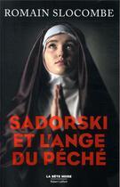 Couverture du livre « Sadorski et l'ange du péché » de Romain Slocombe aux éditions Robert Laffont